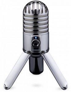Samson Meteor Mic Microphone à condensateur USB cardioïde Chromé de la marque Samson image 0 produit