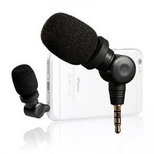 Saramonic imic mini Flexible Microfono à condensateur avec sortie 3,5 mm pour Apple ipad iPhone 5 6 6 Plus iPod Touch IOS Android Smartphones de la marque Saramonic image 0 produit