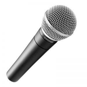 Shure - Microphones dynamiques SM 58 + Pince et trousse inclus de la marque Shure image 0 produit