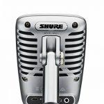 Shure MV51 Micro Statique Numérique large diaphragme USB et Lightning, 5 modes DSP de la marque Shure image 1 produit