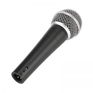 Sm-58Micro dynamique vocal Wired Microphones d'enregistrement cardioïde Instrument de la marque sennow image 0 produit