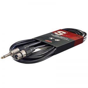 Stagg SMC10XP Câble d'instrument XLR-Jack 10 m Noir de la marque Stagg image 0 produit