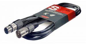 Stagg SMC15 Câble d'instrument Standard équilibré Mono XLR/XLR 15 m Noir de la marque Stagg image 0 produit