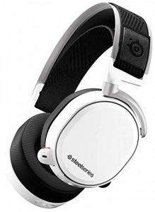 SteelSeries Arctis Pro Wireless - Casque Gaming sans fil (2,4 G & Bluetooth) - Pilotes d'enceintes haute résolution - Blanc de la marque SteelSeries image 0 produit