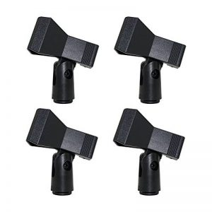 Supports de pince Micro Standard câble ou Micro sans fil – Universal 4 pcs A-For wireless microphone 4PCS de la marque _ Quemu Co.,Ltd. image 0 produit