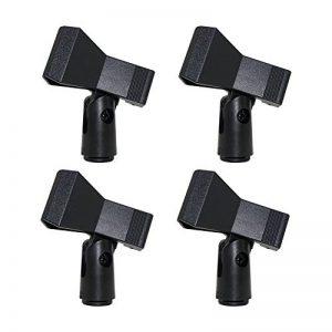 Supports de pince Micro Standard câble ou Micro sans fil–Universal 4pcs A-For wireless microphone 4PCS de la marque _ Quemu Co.,Ltd. image 0 produit