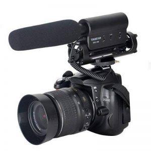 TAKSTAR SGC-598 Interview Microphone de Caméra, Microphone d'enregistrement, Microphone Shotgun, Microphone caméra vidéo pour Nikon, Canon, Sony, caméscope DV DSLR (Besoin DE 3,5 mm Interface) de la marque FOTOWELT image 0 produit