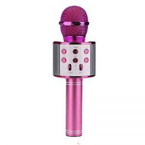 Teepao Microphone Karaoké sans Fil BT 4.1 pour Smartphone, Multi-Fonction de Haut-Parleur de Machine pour la Voix et Chant Enregistrement de la marque Teepao image 0 produit