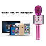 Teepao Microphone Karaoké sans Fil BT 4.1 pour Smartphone, Multi-Fonction de Haut-Parleur de Machine pour la Voix et Chant Enregistrement de la marque Teepao image 3 produit