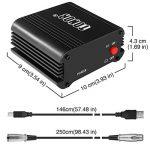 TONOR 48V Alimentation Fantôme avec Câble USB XLR pour Équipement d'Enregistrement de Musique de Microphone à Condensateur de la marque Tonor image 1 produit