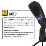 Tonor Microphone à Condensateur Micro de Jeu PC Studio Enregistrement Professionnel pour Ordinateur Portable Windows Mac avec Technologie Anti-Bruit de la marque Tonor image 4 produit