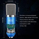 Tonor Microphone à Condensateur Podcasting Studio Enregistrement pour Ordinateur avec Microphone Réglable Suspension Perche Ciseaux Bras Microphone Kits Bleu de la marque Tonor image 1 produit