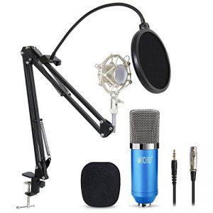 Tonor Microphone à Condensateur Podcasting Studio Enregistrement pour Ordinateur avec Microphone Réglable Suspension Perche Ciseaux Bras Microphone Kits Bleu de la marque Tonor image 0 produit