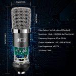 Tonor Microphone à Condensateur Podcasting Studio Enregistrement pour Ordinateur avec Microphone Réglable Suspension Perche Ciseaux Bras Microphone Kits Noir de la marque Tonor image 1 produit