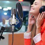 TONOR Microphone à Condensateur XLR à 3,5 mm Podcasting Studio Enregistrement Professionnel Kit Micro avec Alimentation Fantôme 48V et Convertisseur AC EU Noir de la marque Tonor image 1 produit