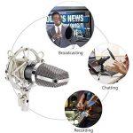 TONOR Microphone à Condensateur XLR à 3,5 mm Podcasting Studio Enregistrement Professionnel Kit Micro avec Alimentation Fantôme 48V et Convertisseur AC EU Noir de la marque Tonor image 3 produit