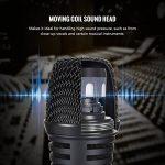 TONOR Microphone Dynamique Professionnel Avec 4,8m Câble Pour DVD/Télévision/KTV Audio/Réflecteur/Mélangeoir/Autobus De Tourisme de la marque Tonor image 2 produit
