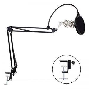 TONOR Microphone réglable Suspension Ciseaux Bras Perche avec la Table de Montage Pince Métal anti-choc Filtre Anti-pop de la marque Tonor image 0 produit
