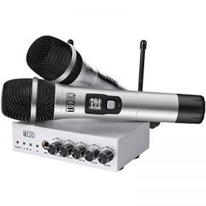 Tonor Microphone sans Fil de Système UHF Portable Micro à Main avec Double Microphones Dynamiques et Écran LCD pour Karaoké Réunion Fiesta de la marque Tonor image 0 produit