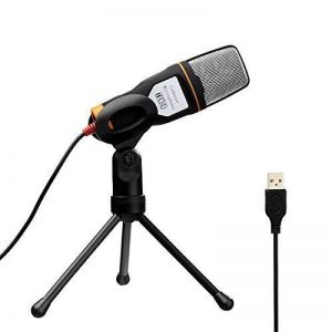 Tonor Professionnel USB Microphone à Condensateur Studio Podcast(deuxième génération) avec l'étagère de support pour PC/portable/ordinateur/Skype/Mac/Enregistrement-Noir de la marque Tonor image 0 produit