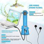 TOSING X3 Karaoke Microphone pour enfants Microphone sans fil Chant Machine meilleur cadeau pour les garçons et les filles d'anniversaire 2018-Kids Karaoke Machines (Bleu) de la marque TOSING image 3 produit