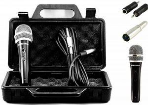 tronicxl Microphone dynamique + photo + câble adaptateur + jack XLR 6,35mm 3,5mm universel avec microphone de la marque TronicXL image 0 produit
