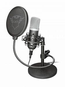Trust Gaming GXT 252 Emita Micro Studio USB, Microphone professional pour PC de la marque Trust Gaming image 0 produit