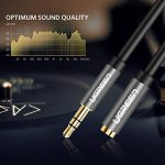 UGREEN Câble Extension Audio Rallonge Jack 3.5mm Mâle vers Femelle avec Embouts Aluminium (2 M, Noir) de la marque UGREEN image 2 produit