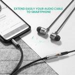 UGREEN Câble Extension Audio Rallonge Jack 3.5mm Mâle vers Femelle avec Embouts Aluminium (2 M, Noir) de la marque UGREEN image 4 produit