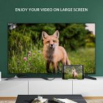 UGREEN Câble Micro HDMI Mâle vers HDMI Femelle Adaptateur 4K 3D Ethernet ARC Compatible avec GoPro Hero 6 Black Asus T100 Zenbook UX330UA Lenovo Yoga 710 20CM de la marque UGREEN image 2 produit