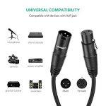 UGREEN Câble XLR Câble Microphone Mâle vers Femelle Compatible avec Enceinte Table de Mixage Caméra Amplificateur Préampli (8m) de la marque UGREEN image 2 produit