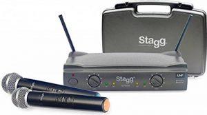 UHF 2canaux Micro sans fil 863.8–864,5 de la marque Stagg image 0 produit