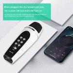 VBESTLIFE Mini Microphone, Microphone Portable Support Changement de Voix avec Cable USB et Cable Audio Compatible avec iPhone/Smartphone Android PC Portable de la marque VBESTLIFE image 4 produit