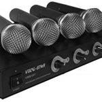Vocal-star 4Ensemble de micro sans fil VHF pour karaoké DJ PA Band voix chantant de la marque Vocal-Star image 1 produit