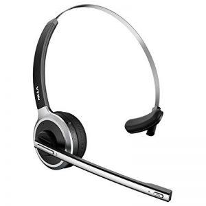 VTIN Micro Casque Bluetooth sans Fil Casque d'Écoute Professionnel Léger Mains-Libres avec Microphone Intégré pour Conducteurs, Téléphoniste, etc de la marque VTIN image 0 produit