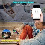 WIFI Contrôleur RGB Intelligent de Led Ruban + Télécommande à infrarouge(IR) 24 touches sans fil pour Ruban Lumineuse Multicolore, Compatible avec Android, IOS travaillé par Alexa,Google Home, IFTTT de la marque INDARUN image 3 produit